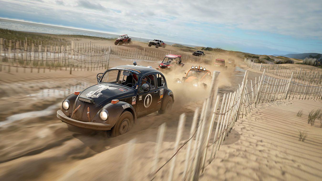 Rallybilene føles annerledes å kjøre og bidrar til mer variert gameplay.