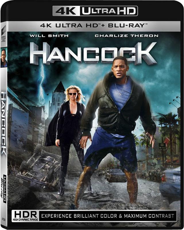 Hancock er en av filmene som blir lansert i det nye Blu-ray-formatet. Foto: Sony Pictures