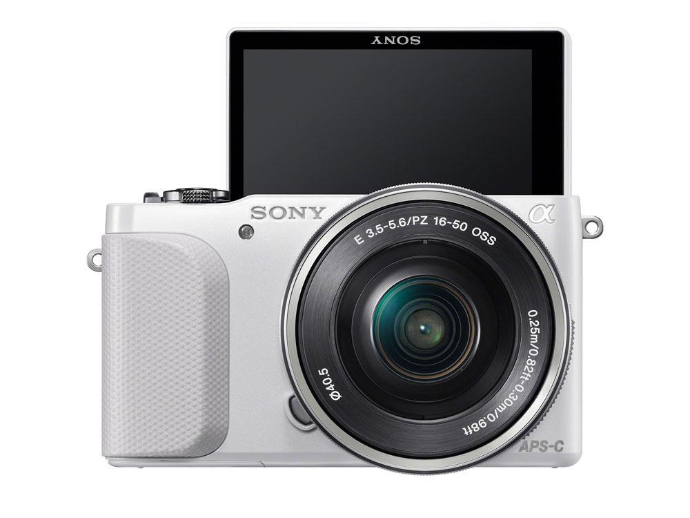 Sony NEX-3N. Foto: Sony.