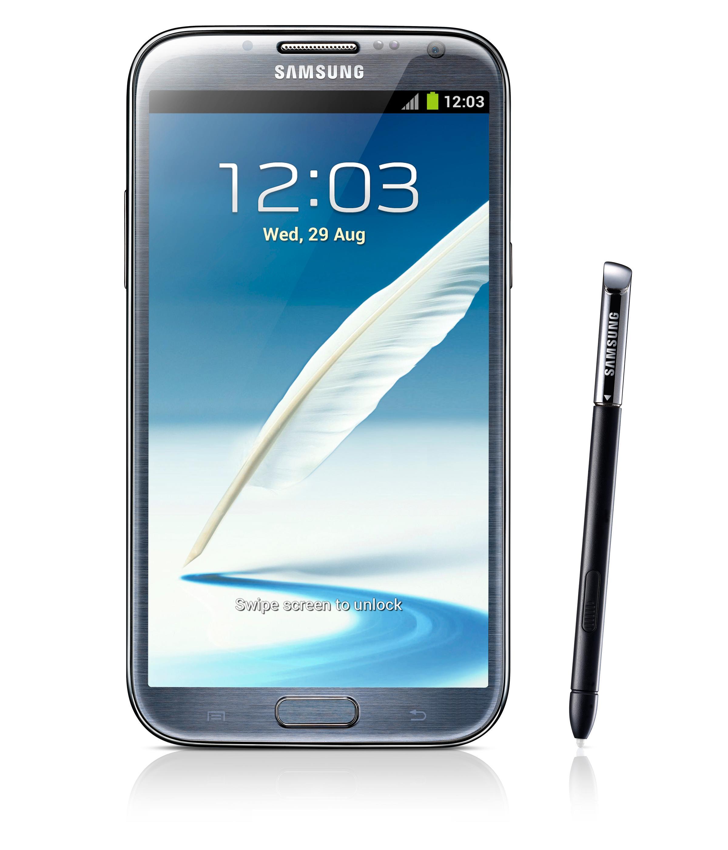 Nettstedet Phandroid spekulerer i at Samsung vil forsøke å gjenskape funksjonene fra den digitale pennen som følger med Galaxy Note-serien, med fingre i stedet.Foto: Samsung