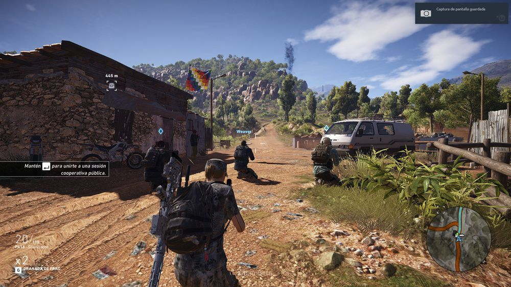 Nytt spill: Ghost Recon: Wildlands.