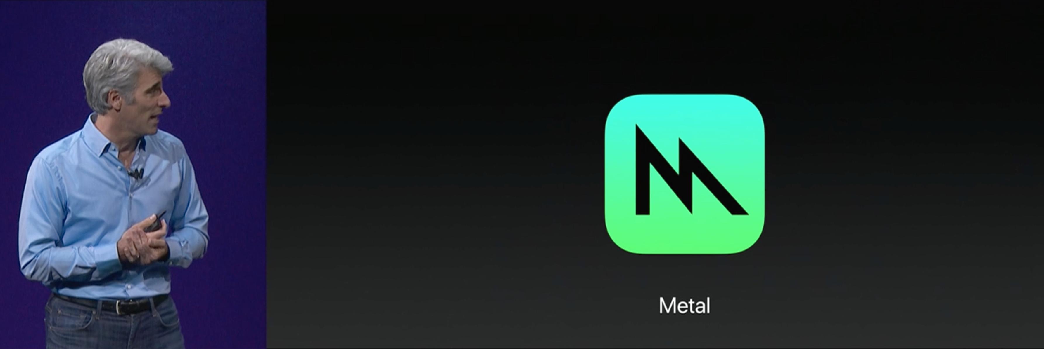 Metal 2 lansert. Bilde: Skjermdump/Apple