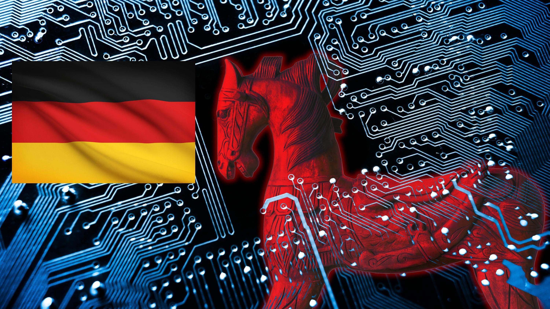 I Tyskland kan innbyggerne stå i fare for å få installert trojanere fra myndighetene
