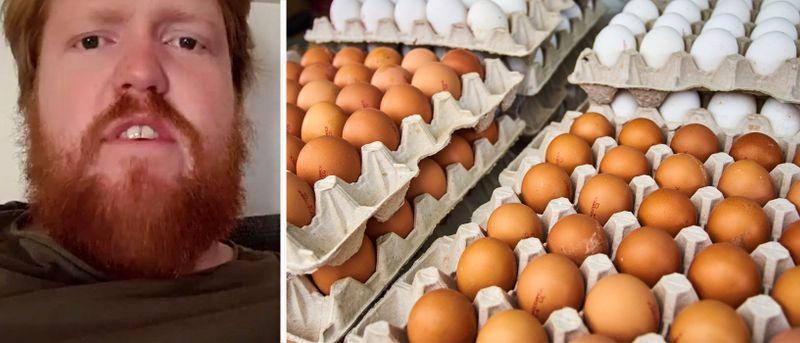 """""""Jag drev halva äggförsäljningen i Sverige"""""""