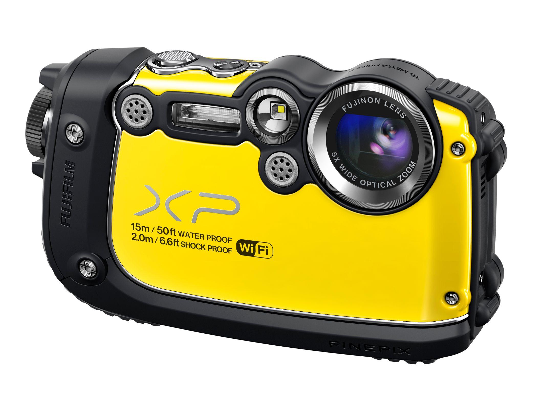 Fujifilm FinePix XP200 er robuste saker.