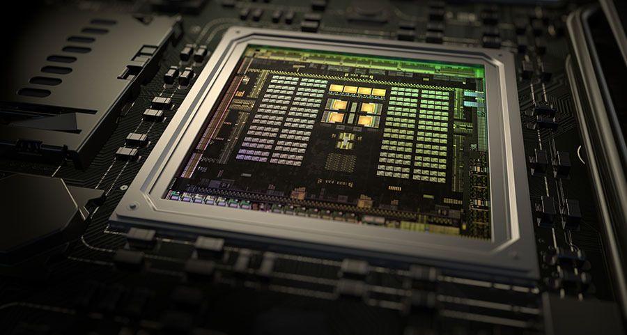 Nvidias nye superprosessor Tegra X1. Foto: Nvidia