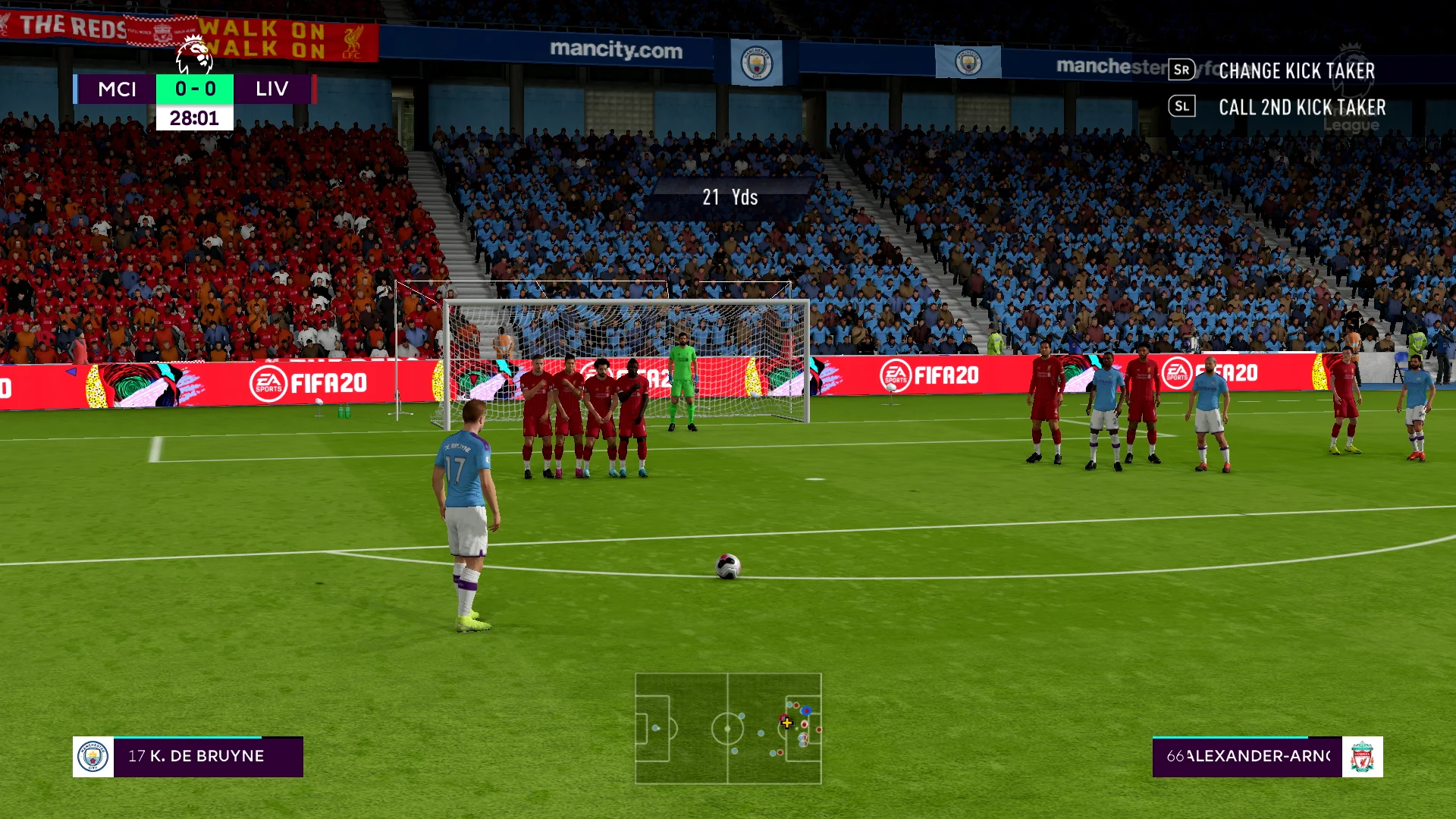 Skal bruke publikumslyder fra Fifa 20 når Premier League åpner opp igjen