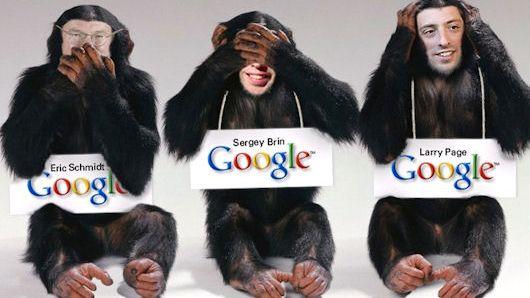 Google-glipp spredde virus