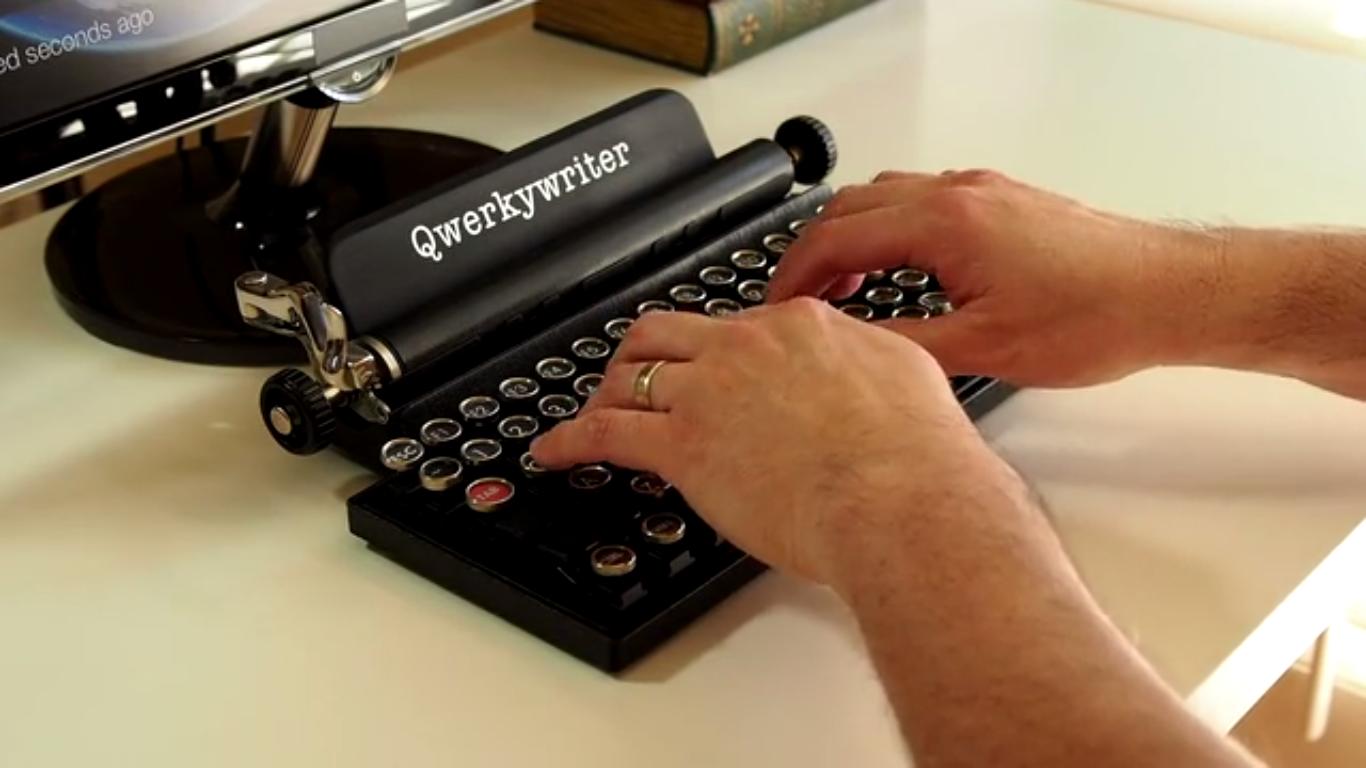 Kunne du tenkt deg et tastatur som dette?