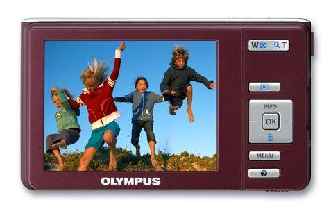 Olympus FE-5030 bakfra
