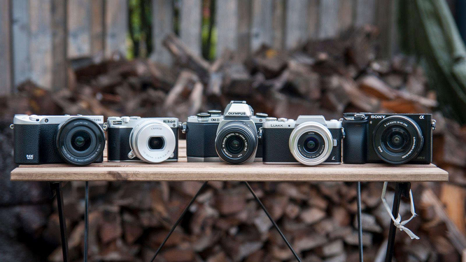 Kompakte systemkameraer