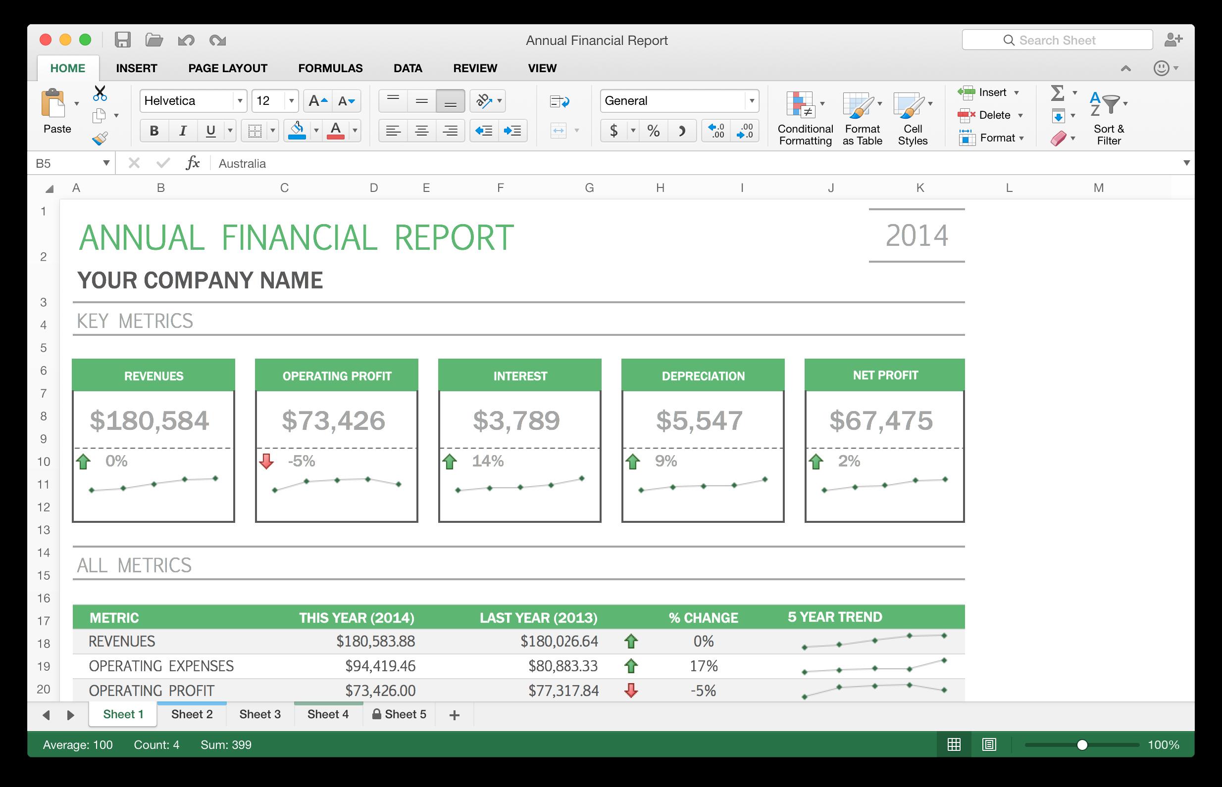 Excel 2016 for Mac. Foto: Microsoft