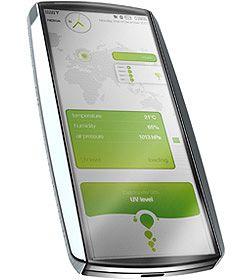 Nokias økologiske konseptmodell. (Bilde: Mobile Whack)