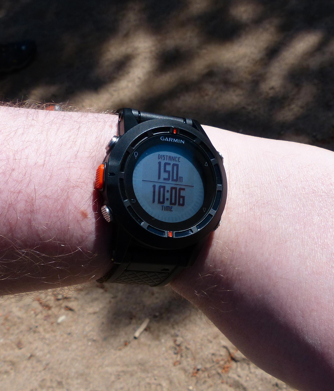 Fénix er en håndledds-GPS som er laget først og fremst for tur og terrengløping.Foto: Finn Jarle Kvalheim, Amobil.no