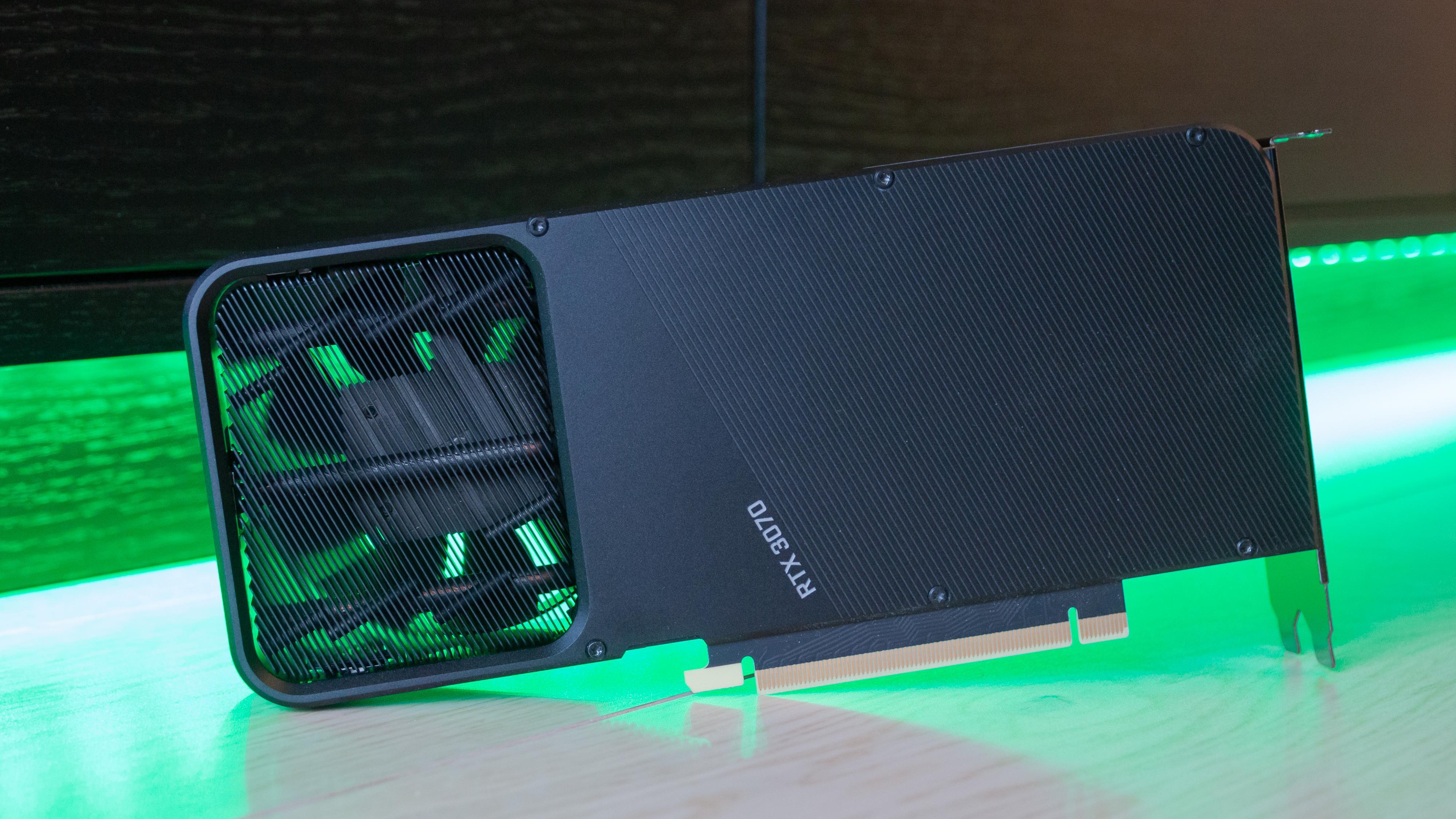 Nvidia RTX 3070 FE.