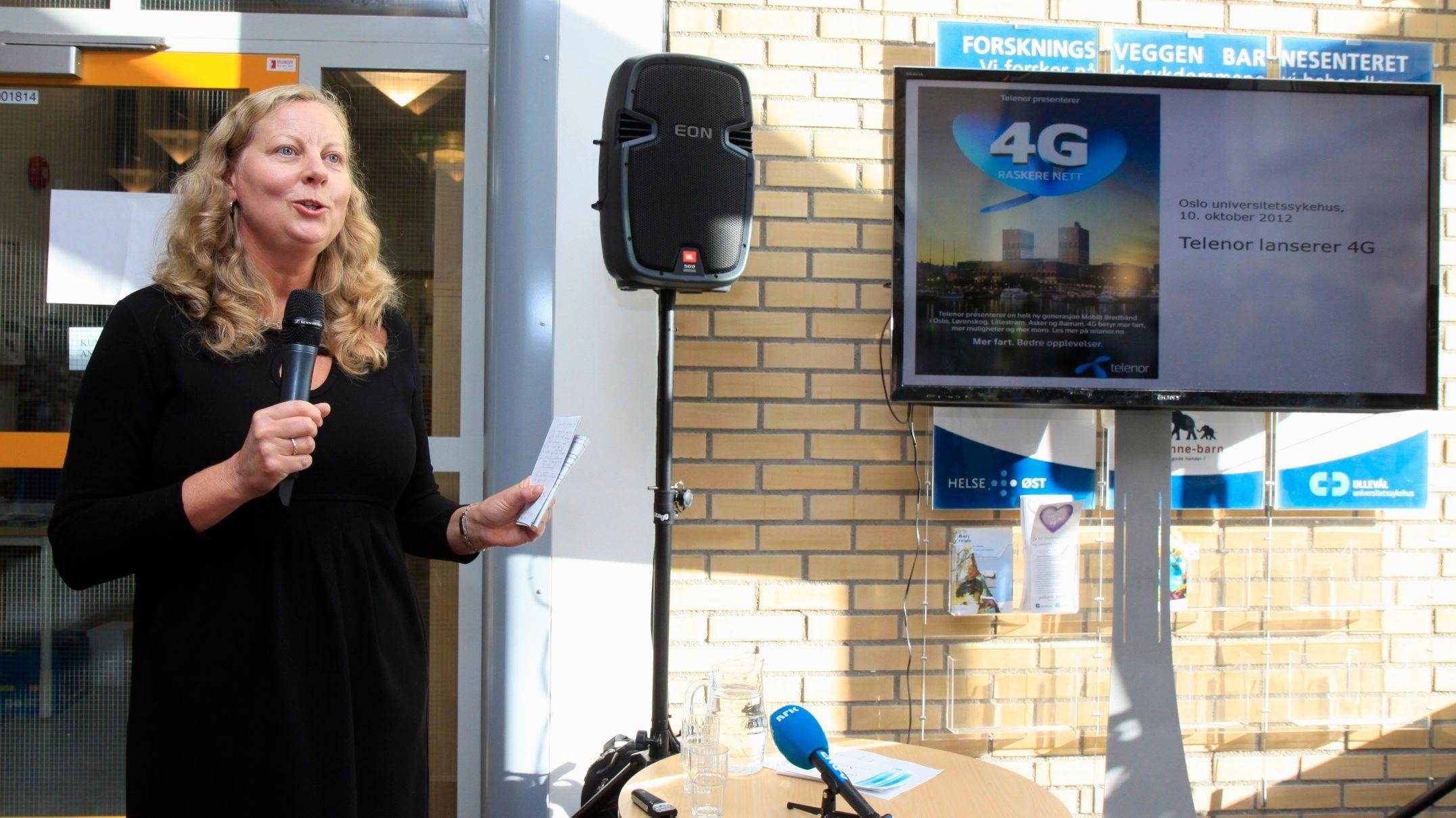 Telenor lover 4G til 9 av 10