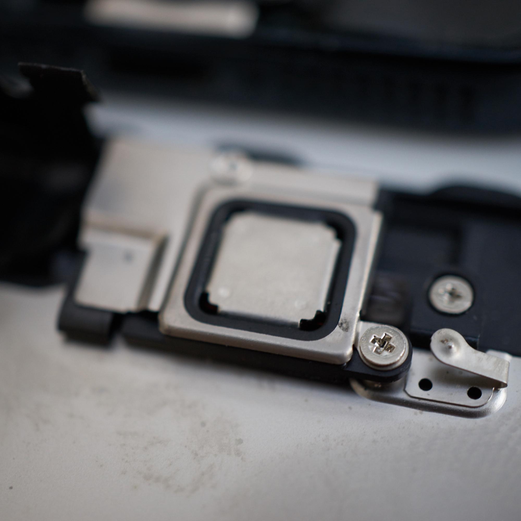 Frontkamera-assembly, iPhone 5.