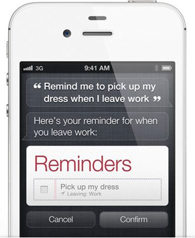 Med Siri kan man be telefonen om å gjøre det meste, uten å bruke en eneste knapp.