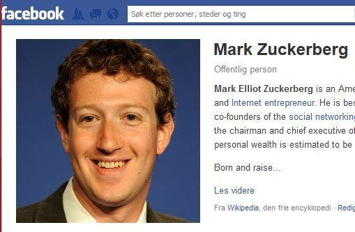 Facebook-grunnlegger Mark Zuckerberg har vært trukket fram som lettere autistisk.