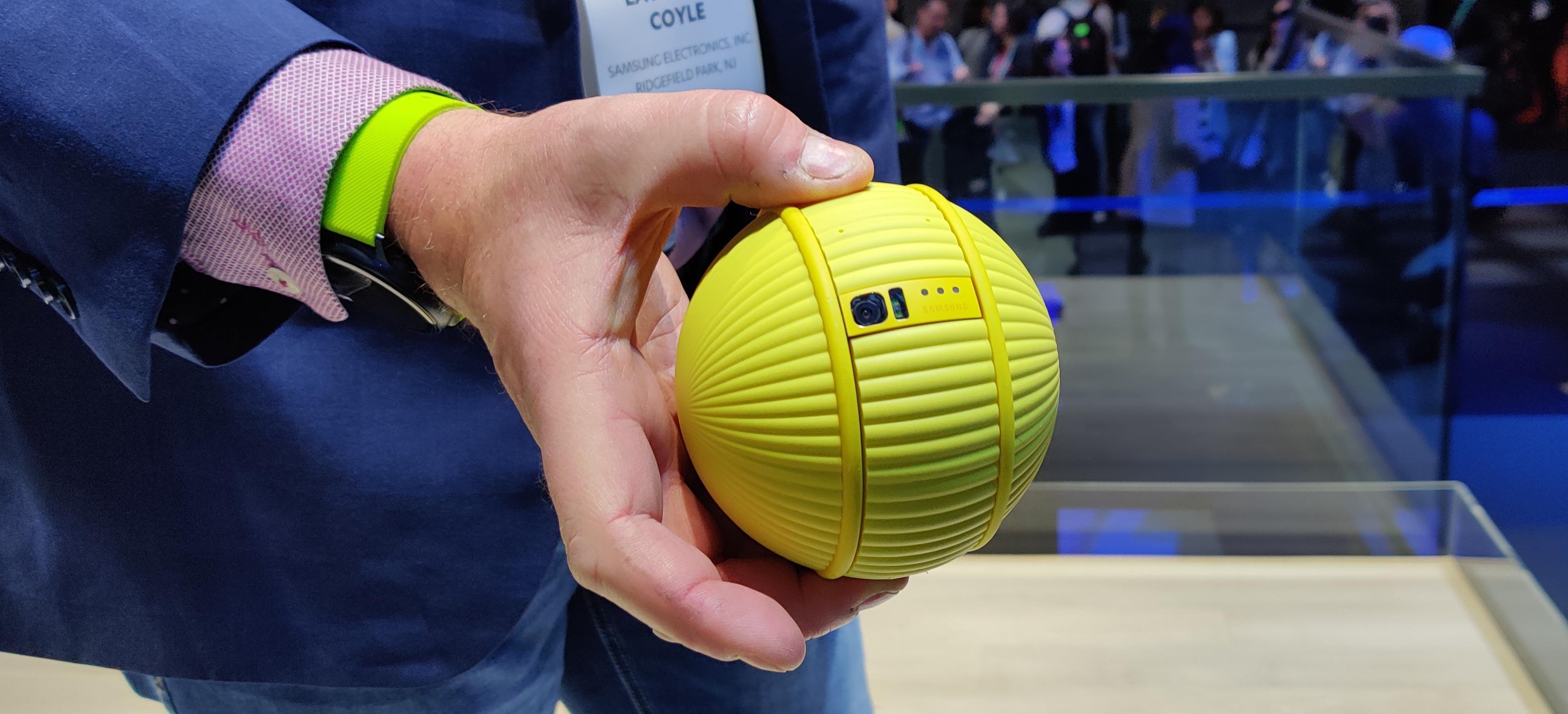 Denne lille ballen skal hjelpe deg hjemme