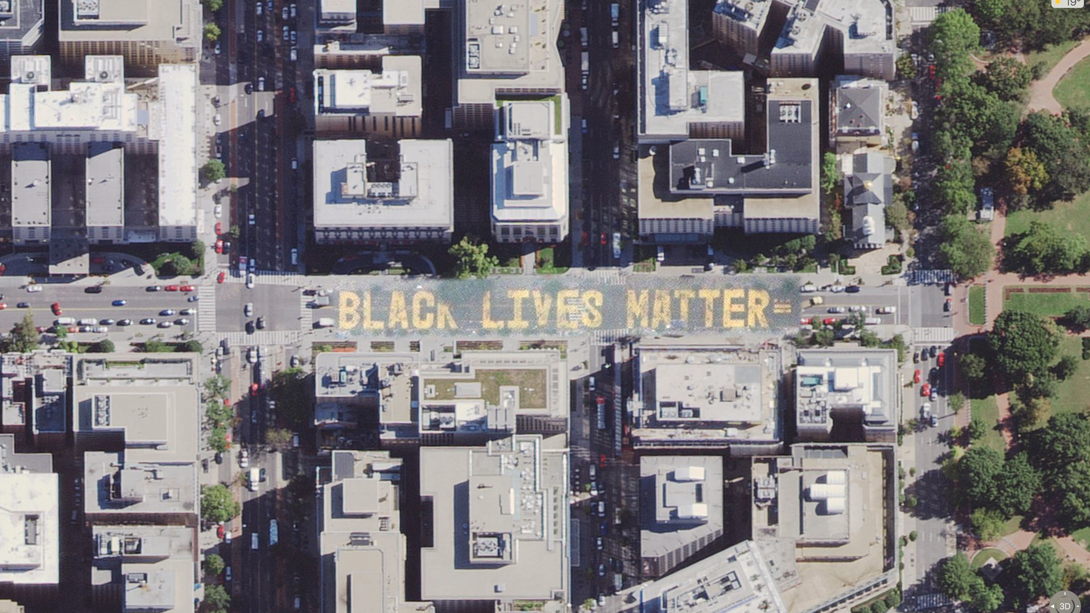 Apple oppdaterte Apple Maps for å få med «Black lives matter»