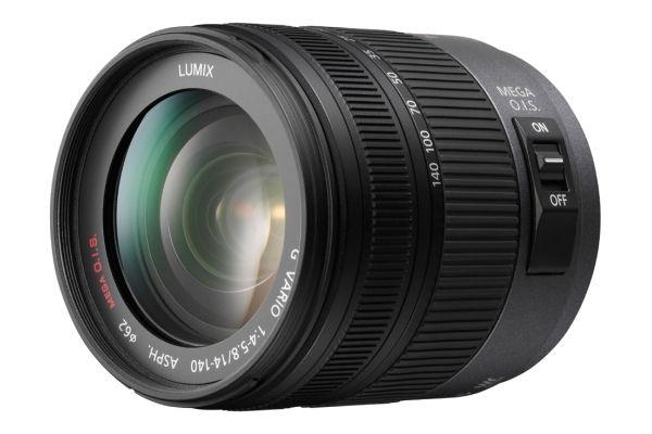 Panasonic LUMIX G VARIO HD 14-140mm / F4.0-5.8 ASPH. / MEGA O.I.S. FOTO: Produsenten