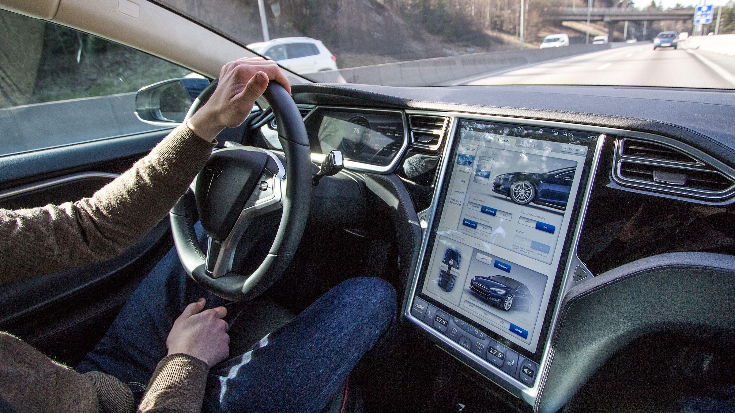 Tesla Model S' 17-tommer er bare begynnelsen.Foto: Vegar Jansen, Hardware.no