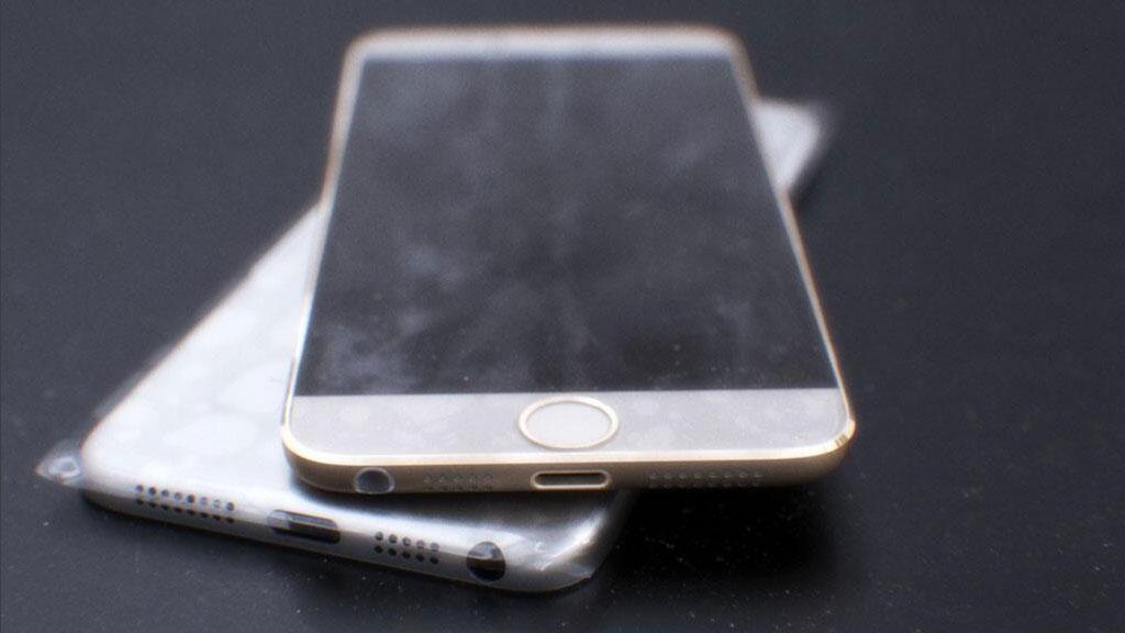 Disse bildene av det som skulle være iPhone 6 har vist seg å være falske, ifølge Engadget.Foto: mornray886