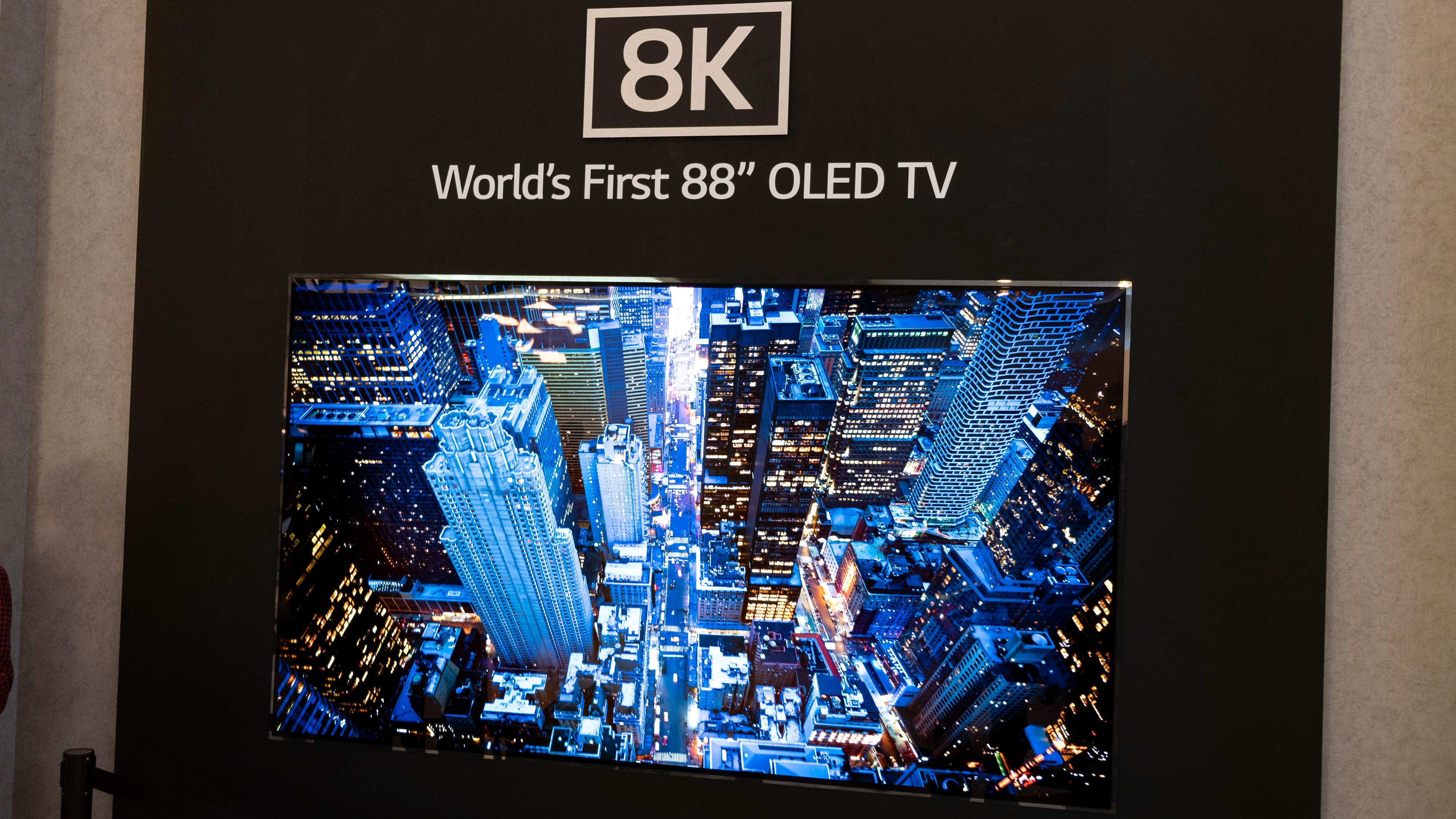 LG 8K OLED og Micro-LED