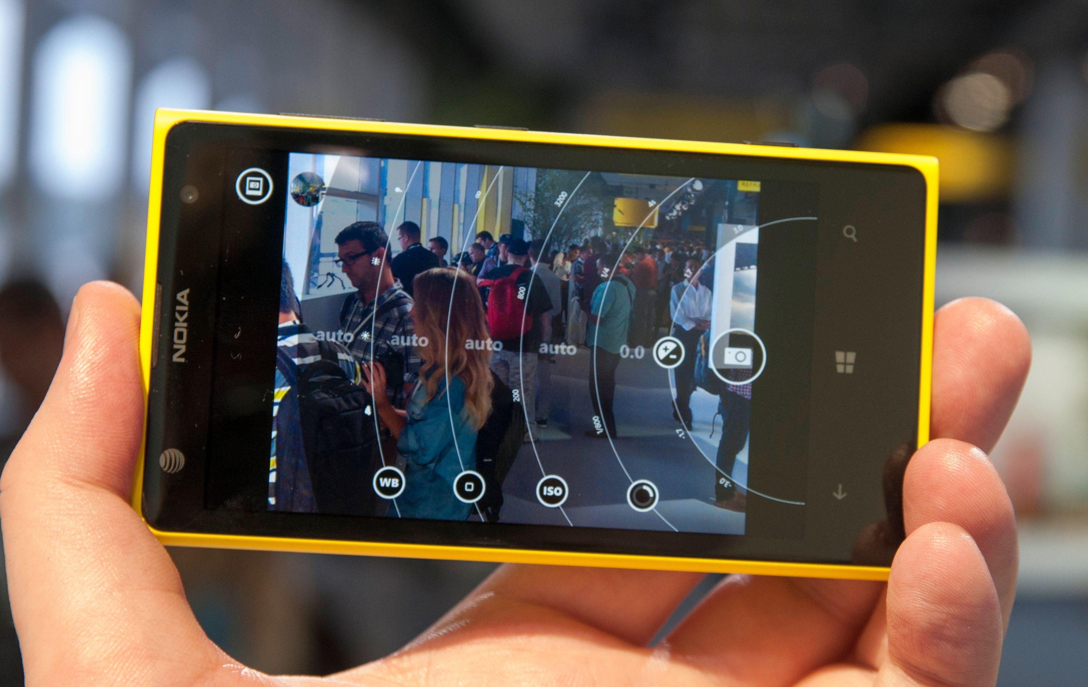 Den nye Pro Camera-appen gjør det morsomt å leke med kamerainnstillinger.Foto: Finn Jarle Kvalheim, Amobil.no