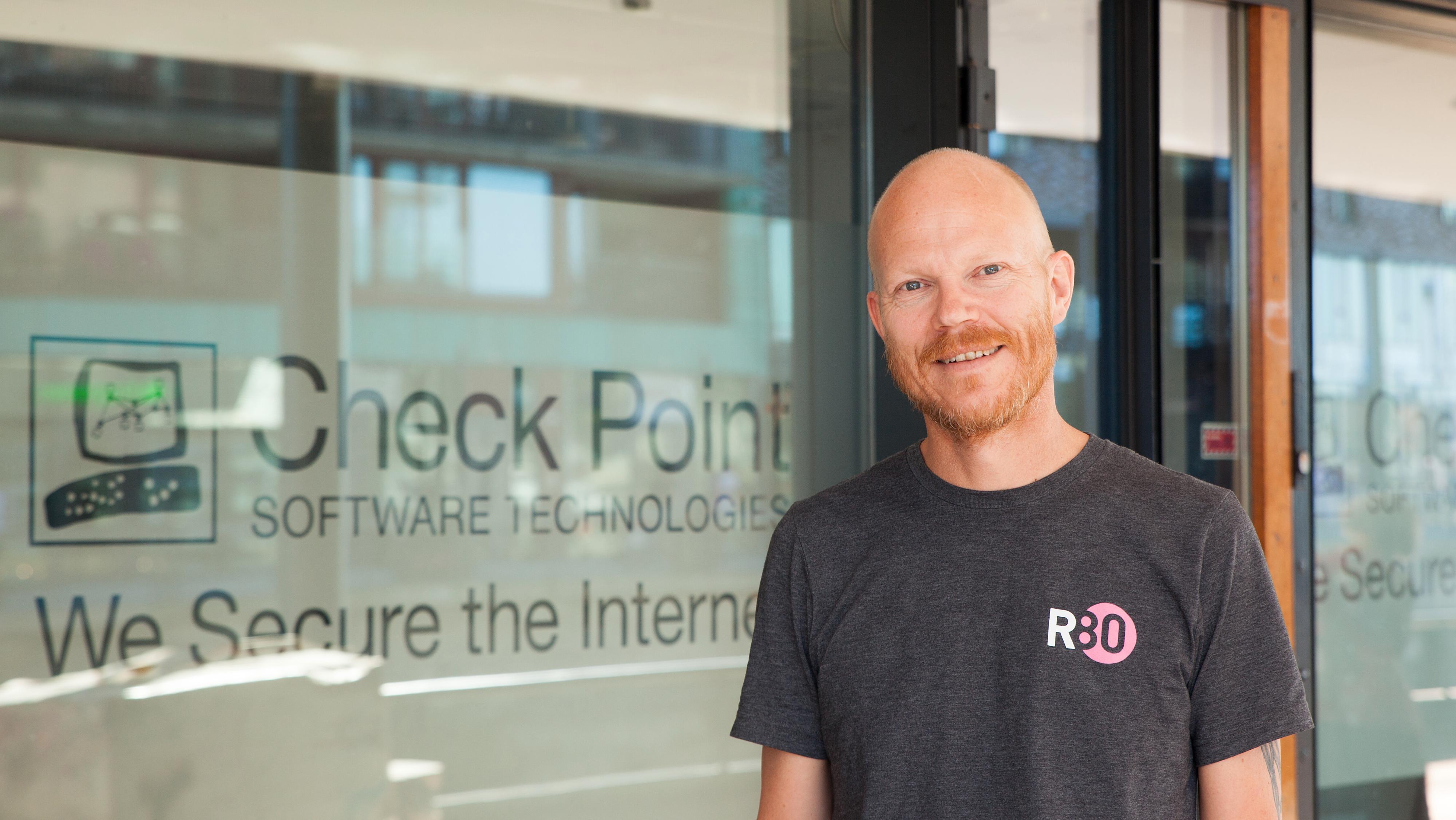 Sikkerhetsingeniør Arnfinn Strand i Check Point.