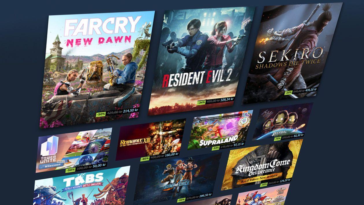 Spillerrekord for Steam i helgen - over 23 millioner samtidige spillere