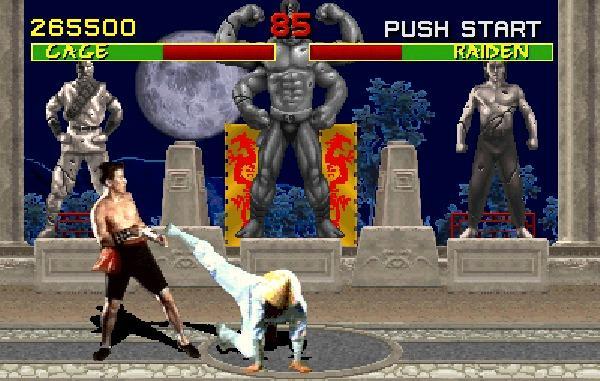 Mortal Kombat. Foto: Midway Games