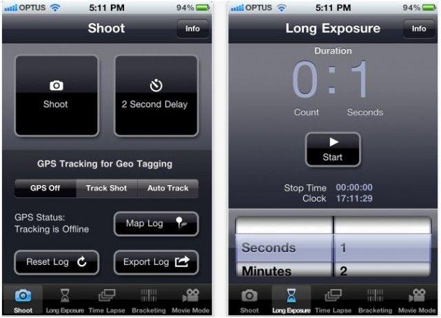 Slik ser applikasjonens brukergrensesnitt ut.