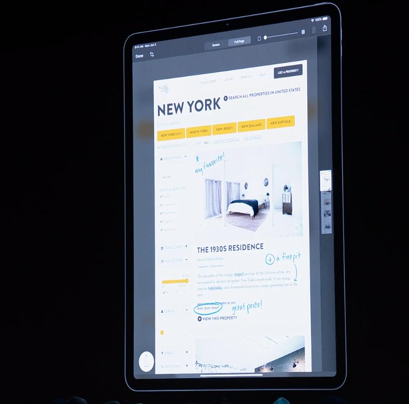 I nye iPadOS blir det enda lettere å skissere eller tegne oppå skjermbilder og nettsider.