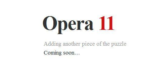 Opera 11 får utvidelser