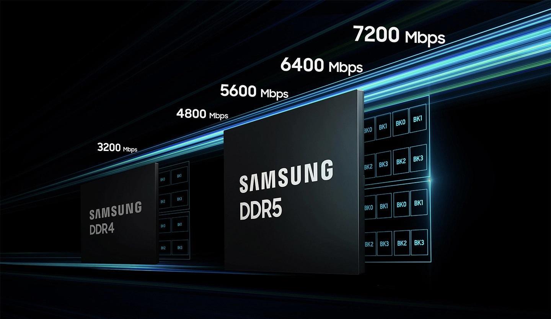 Samsung har ingen planer om å stoppe på 6400 Mbps.