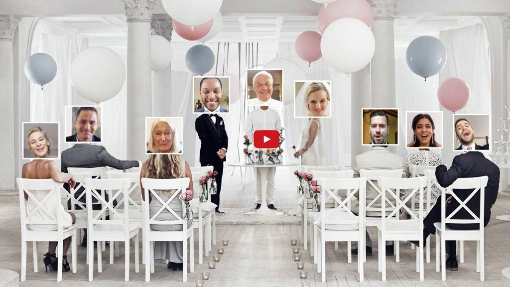 Nå tilbyr IKEA online-bryllup