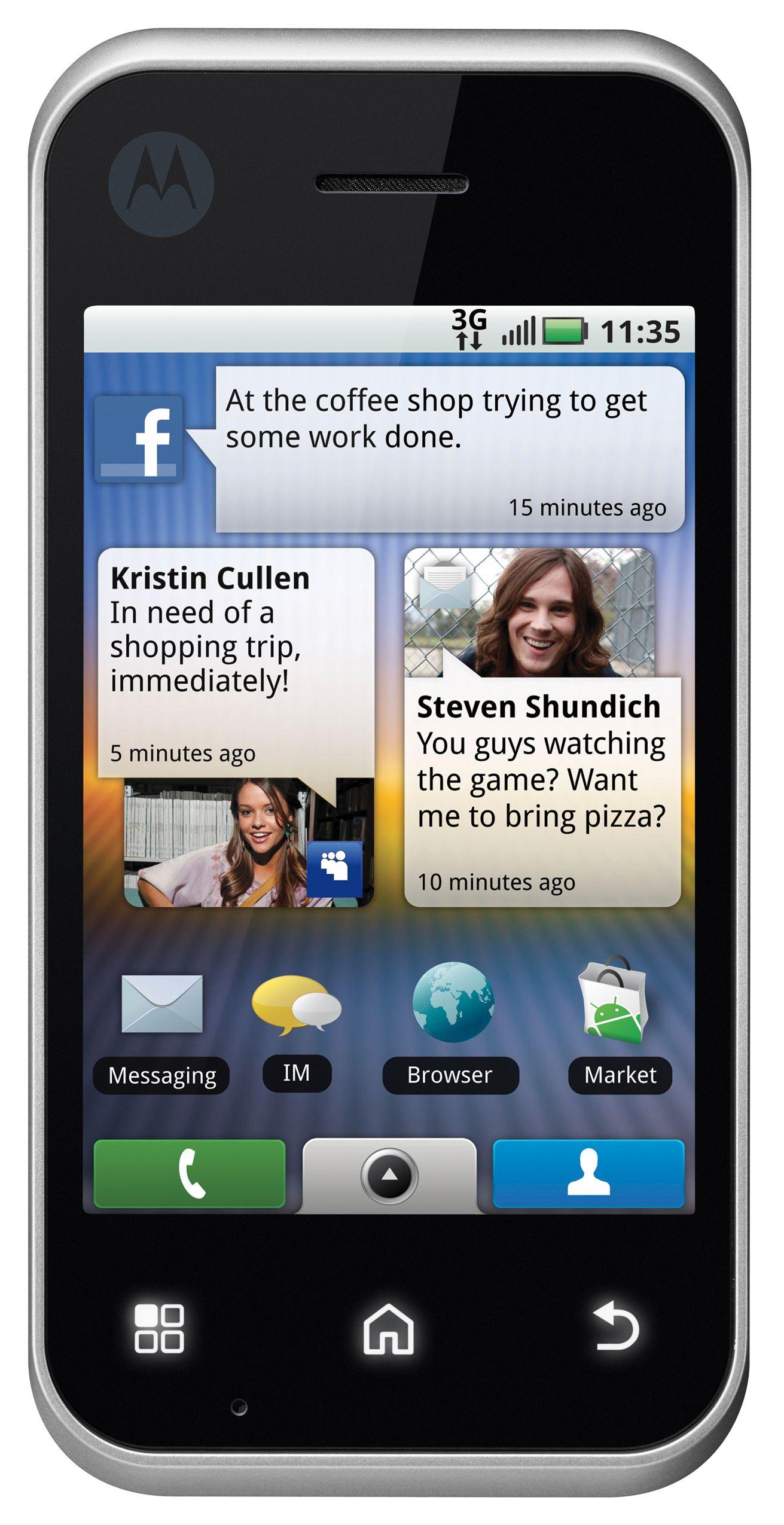 Ved første øyekast likner den litt på en annen mobil.