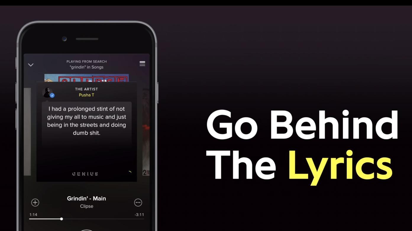 Nå skal Spotify gi deg mer informasjon om musikken som spilles