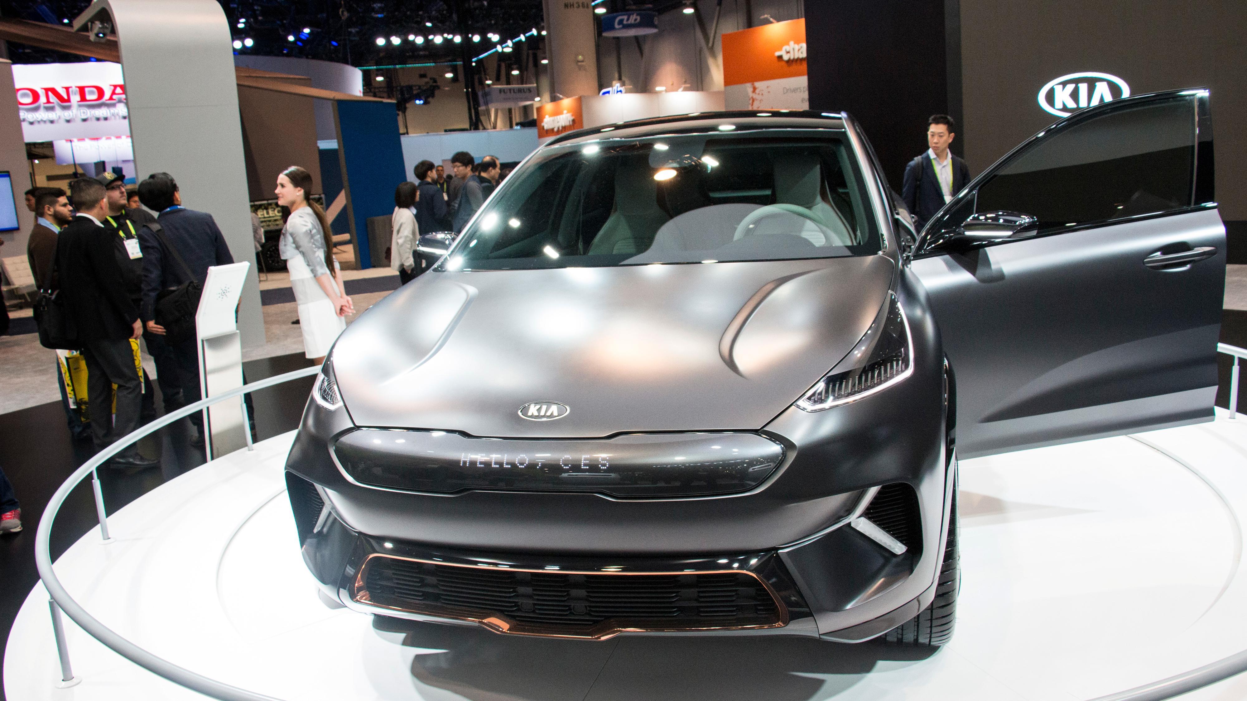 Kia Niro EV Concept.