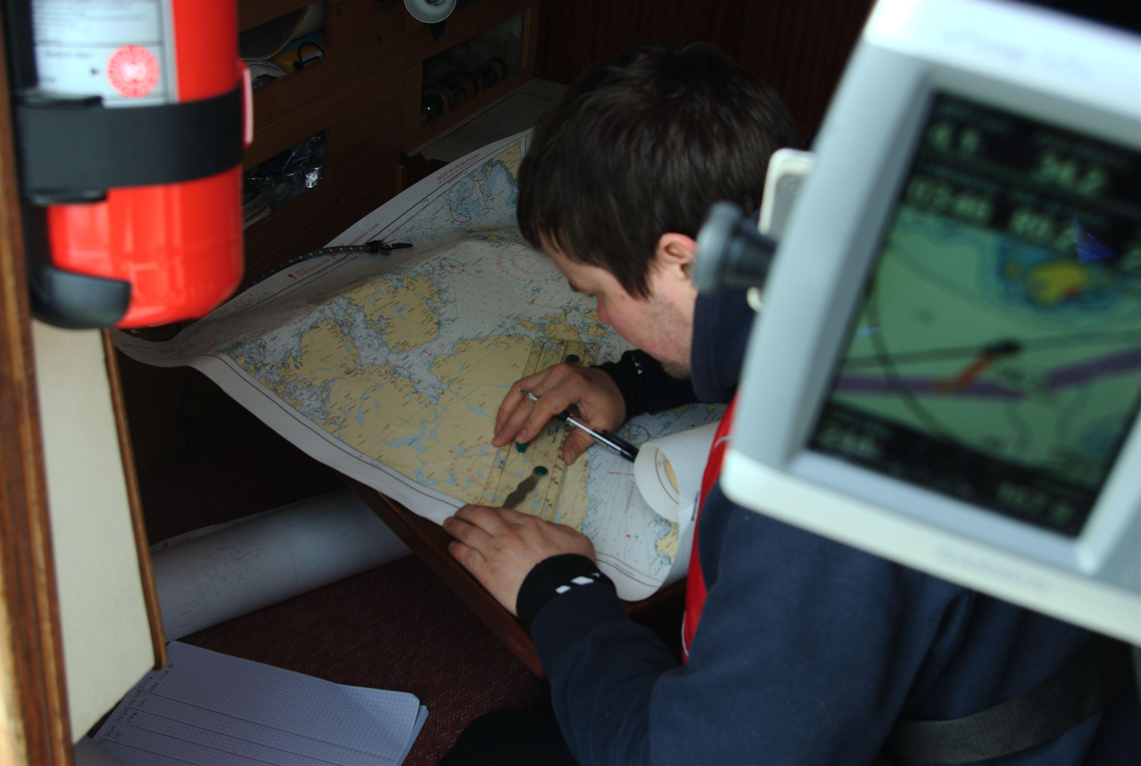 Vi har utfordret kartet og kartplotteren.