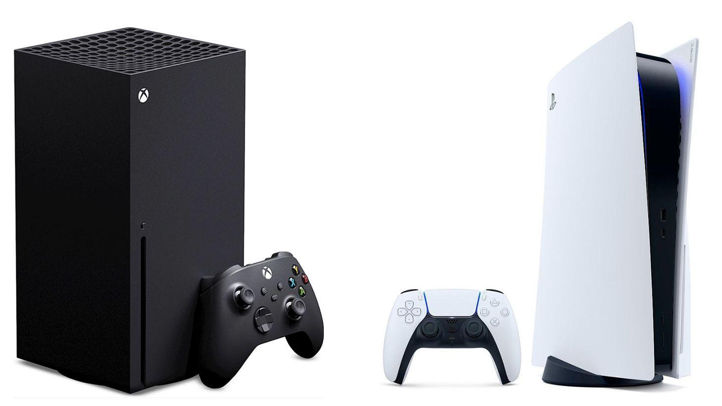 Xbox Series X vs PlayStation 5.
