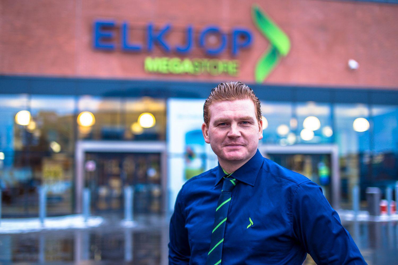 Kommunikasjonssjef Øystein A. Schmidt i Elkjøp.Foto: Elkjøp/Joakim Mangen