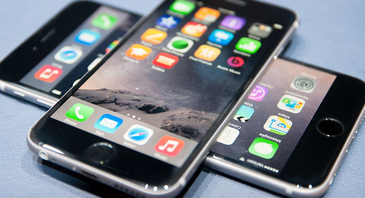 iPhone 6 og 6 Plus.Foto: Apple