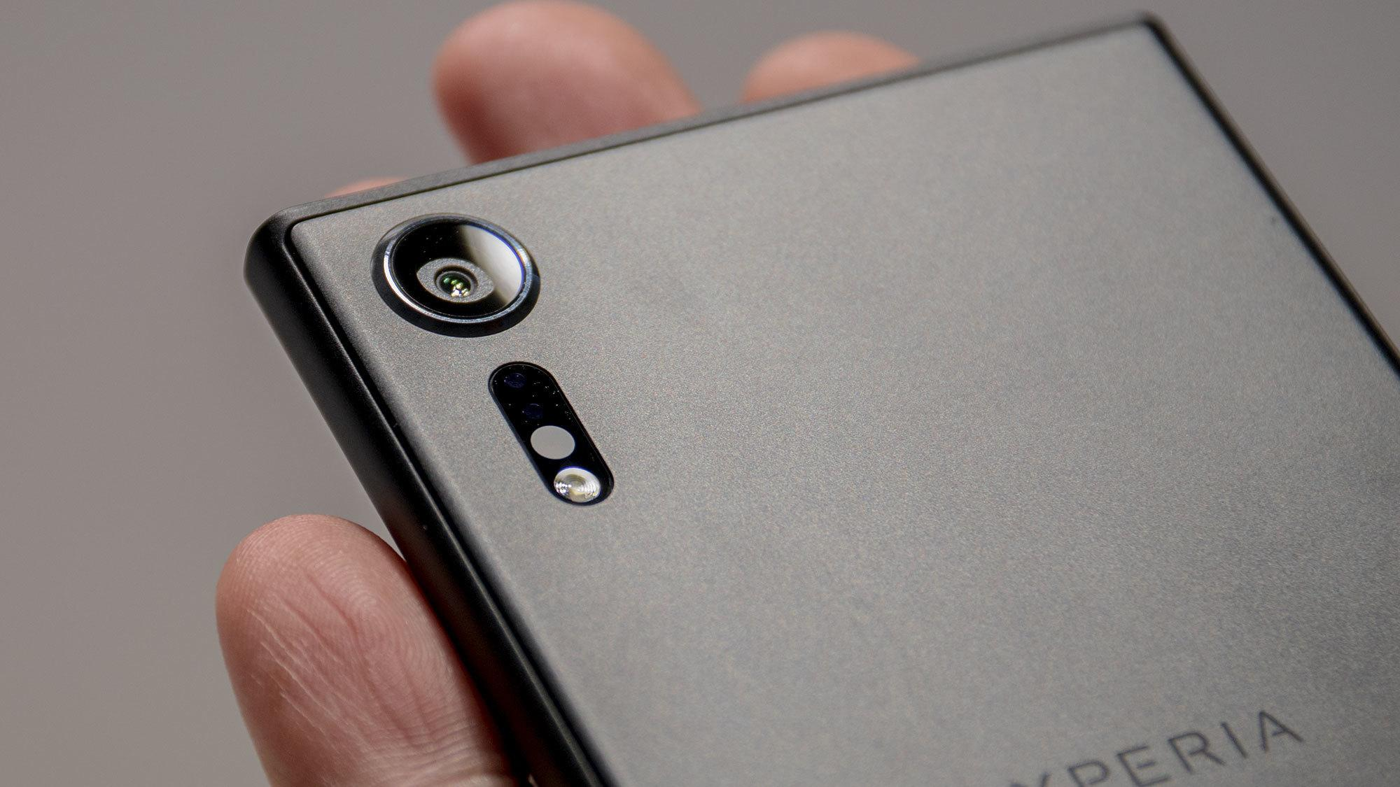 Slik ser Sonys Xperia XZ Premium ut.