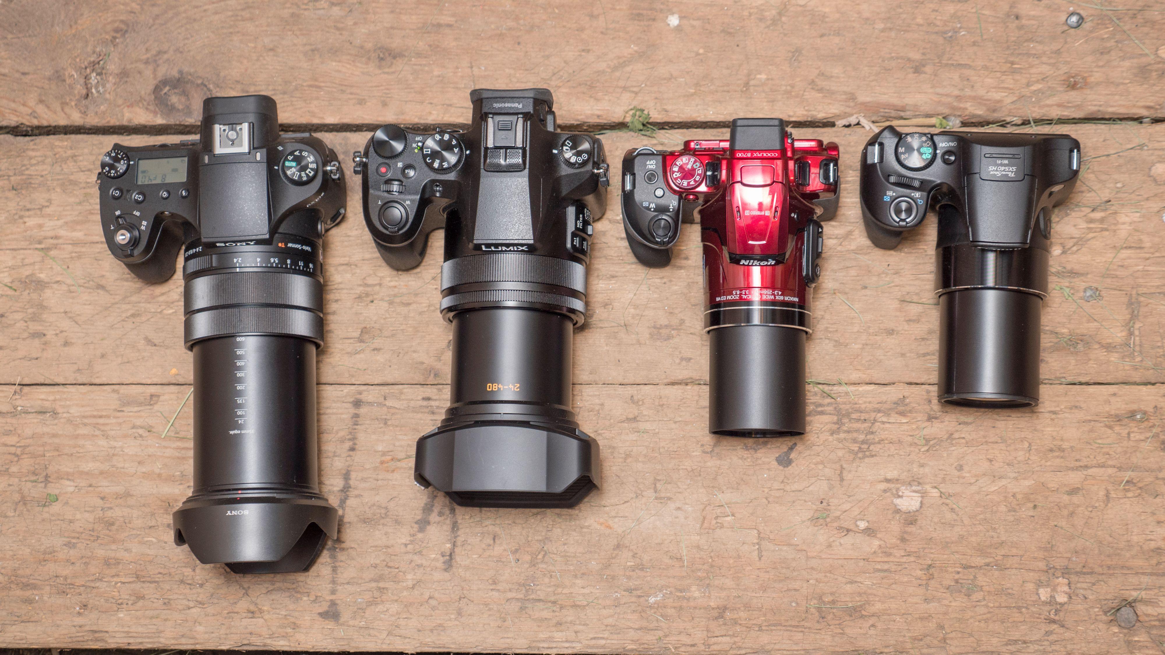 Superzoom-kameraer