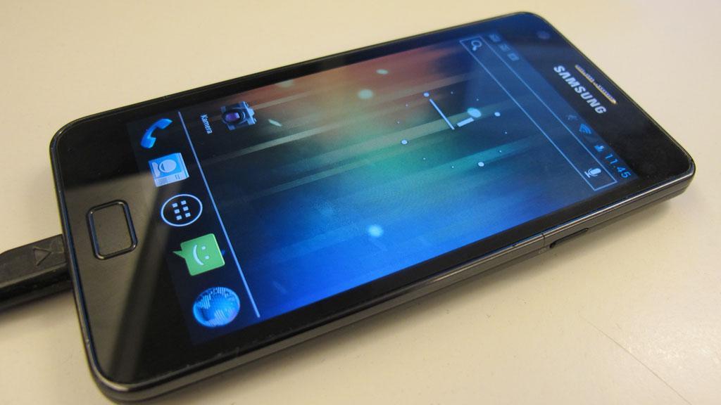 Ice Cream Sandwich på Samsung Galaxy S II