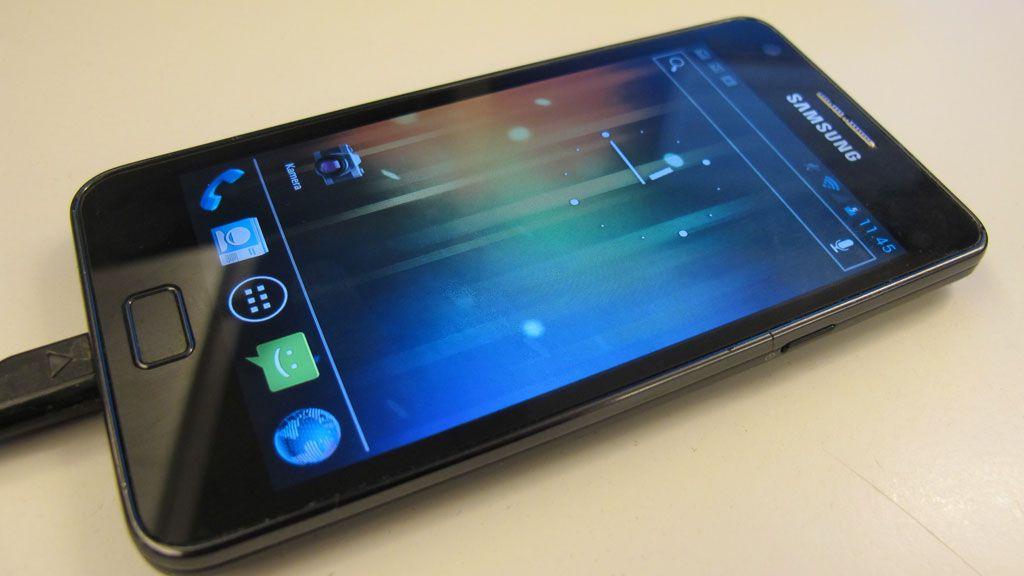 Samsung lover batteri hele dagen
