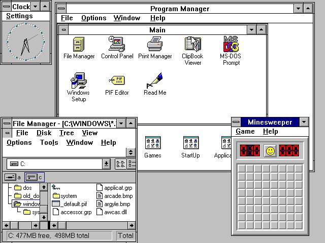 Windows 3.1 var en enorm suksess da det ble lansert.
